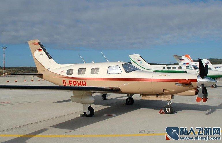 派珀Malibu飞机机身外观