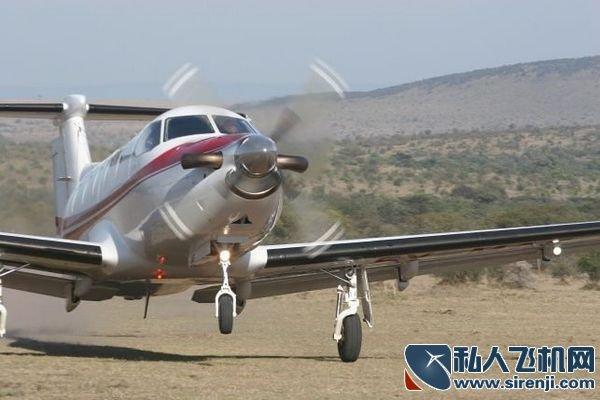 皮拉图斯pc-12起飞_私人飞机网