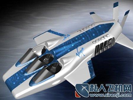 新奇的潜水水下飞机 看看亿万富翁们的新玩具