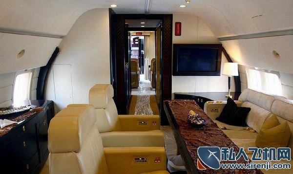 私人飞机内饰图片_波音BBJ2内饰_私人飞机网
