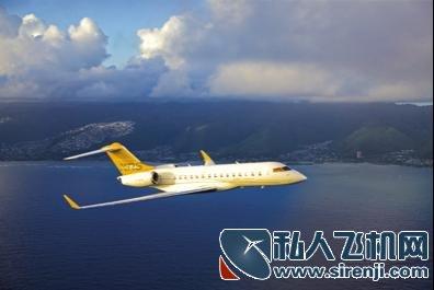 """""""全球快车""""xrs为庞巴迪最新型号飞机,配备双路数据传输连接"""