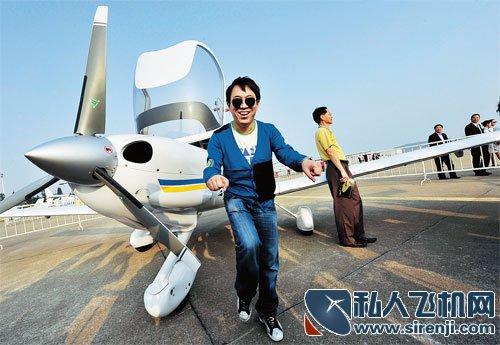 中国谁有私人飞机之中国明星私人飞机