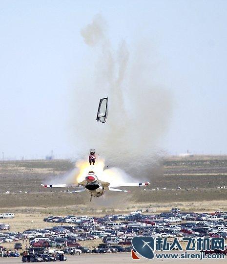 的航展飞行表演事故