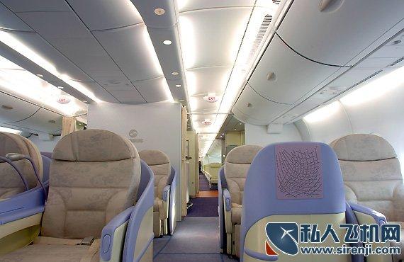 南航A380豪华头等舱真宽敞 姚明腿都可以伸直