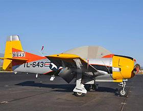 北美 T28A型教练攻击机