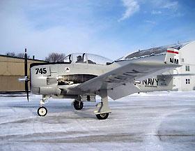 北美 T28B型教练攻击机馆