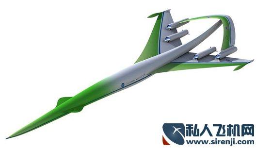 未来超音速公务机概念 几大飞机巨头设计图