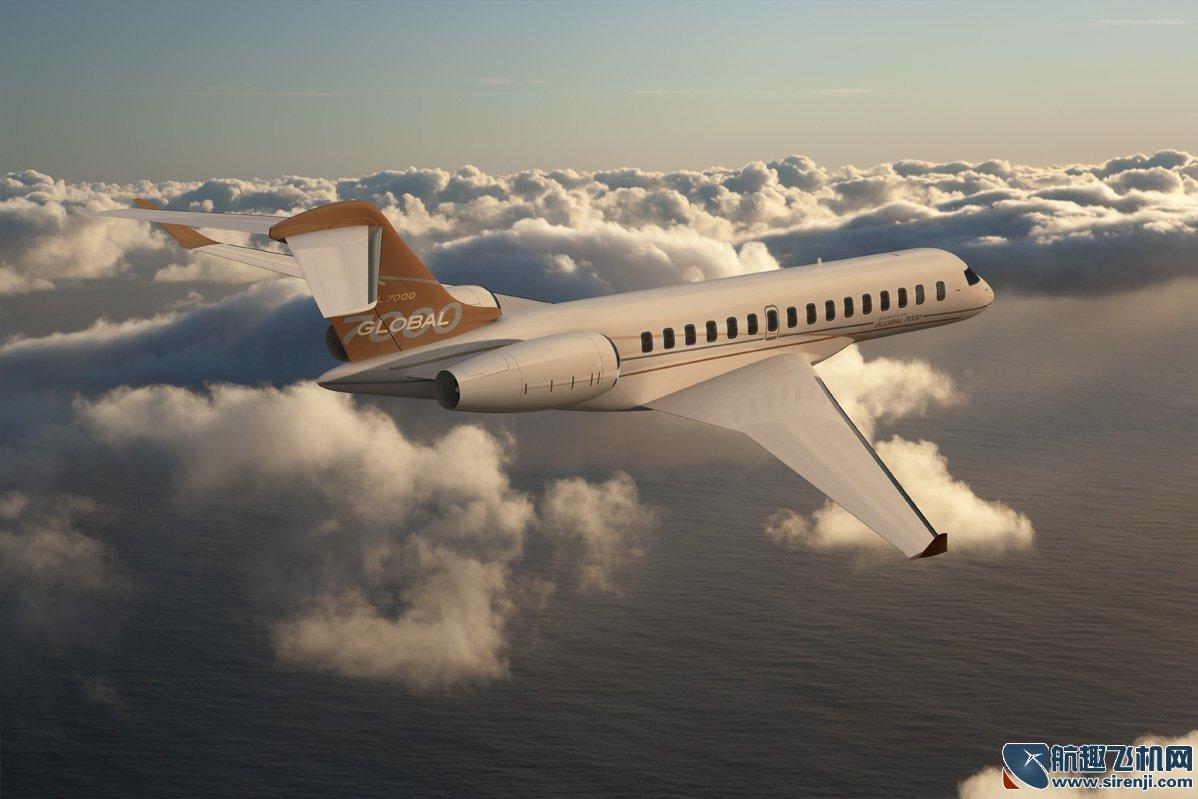 庞巴迪飞机图片