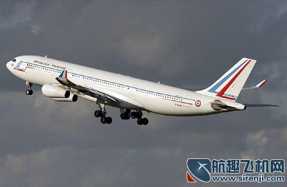 """空客a-340:法国""""空军一号""""_私人飞机网"""