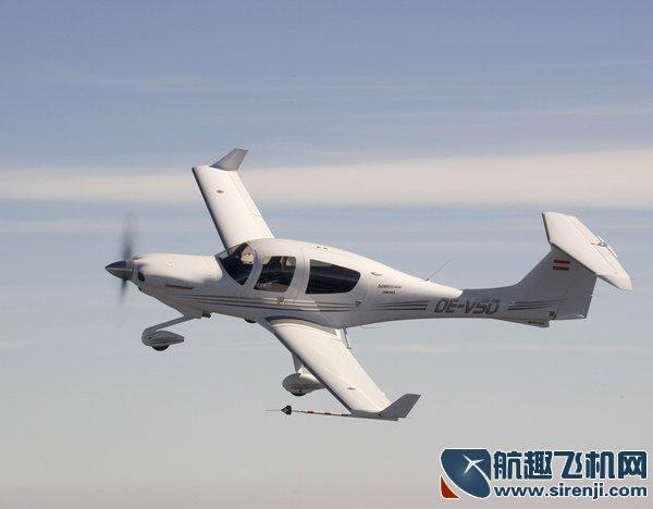 钻石飞机的单引擎旗舰机型:diamond da50