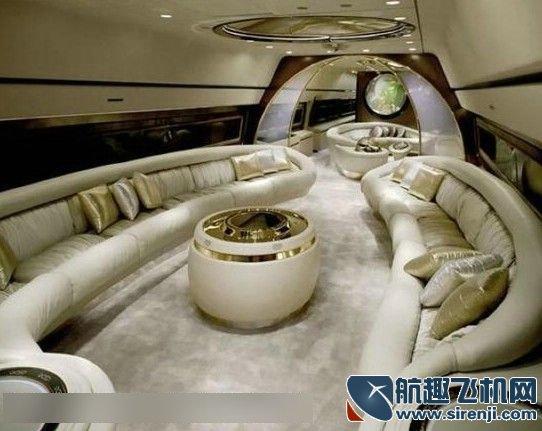 """探秘最奢华的私人飞机 顶级富豪""""昂贵""""的品味"""