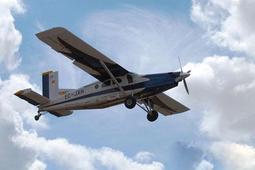 """皮拉图斯""""pc-12 """"私人飞机"""