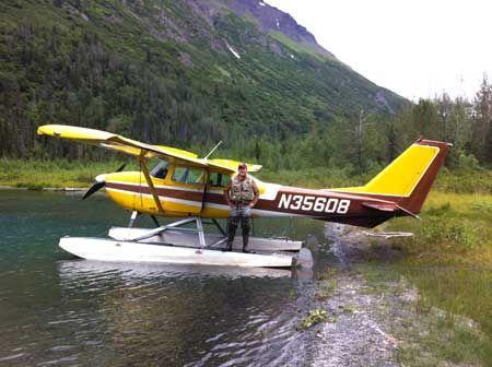 阿拉斯加学习开水上飞机之铿锵七人行