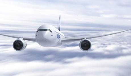 空客a350xwb宽体飞机完成首次发动机试车