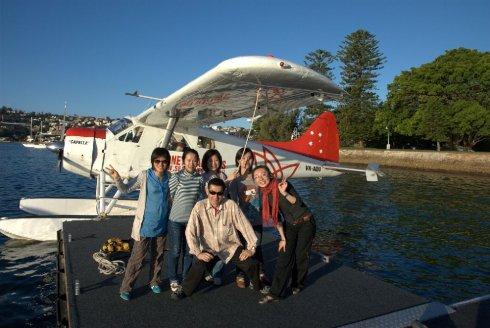 乘水上飞机俯瞰悉尼 别样角度别样的悉尼_私人飞机网