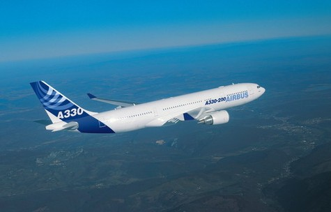 南航广州至莫斯科航线选用空客a330-200执飞图片