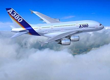 a380飞机图片_租赁公司订购a380飞机 为更多客户树立信心