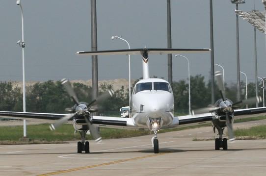 比奇公司空中国王350er飞行速度创新纪录_私人飞机网