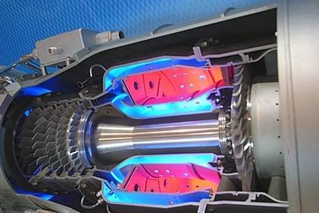 350平面v型航空柴油发动机