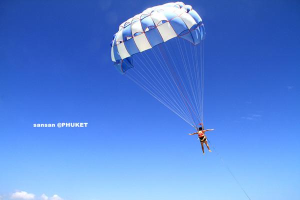 玩转泰国之600铢在普吉岛体验水上滑翔伞(4)