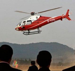 SW-4直升机