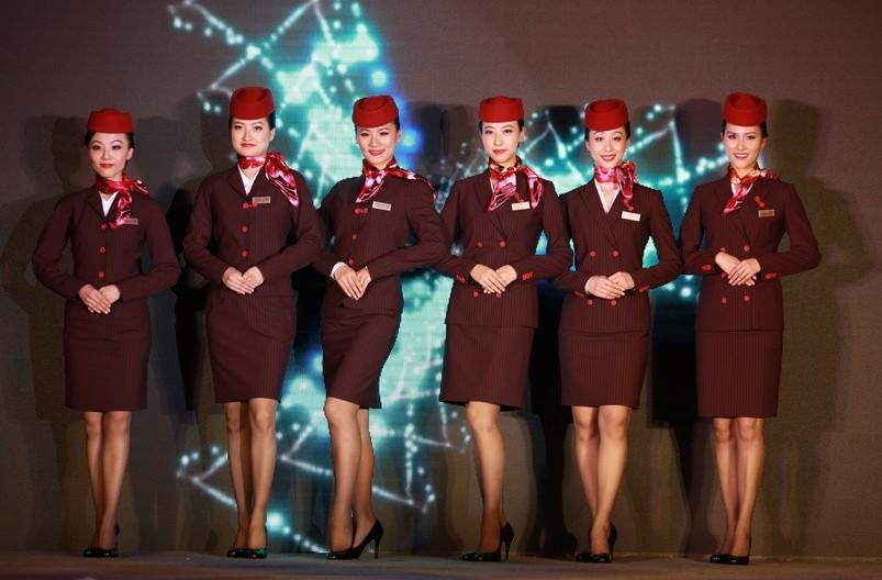 各國空姐制服 婀娜多姿