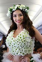 越南航空美女比基尼秀表演