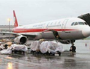 双流机场遭雷暴 已造成50架出港航班延误
