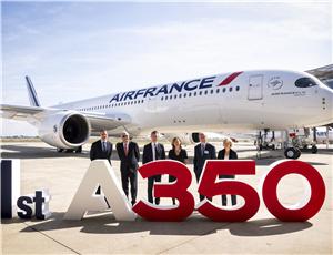 法国航空接收其首架空客A350-900qq拼手气红包没领光
