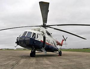 米8中型运输直升机馆 铝合金材料制成