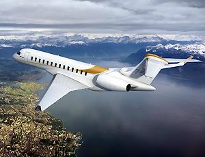 环球7500私人飞机 航程超过一万四千公里