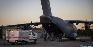 土耳其搭载救援物资和救援人员的飞机已抵达贝鲁特